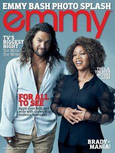 Jason Momoa and Alfre Woodard (Emmy Magazine)