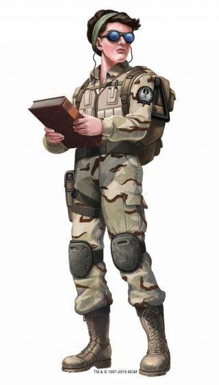 Stargate RPG character (Human)
