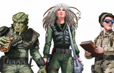 Stargate RPG Characters