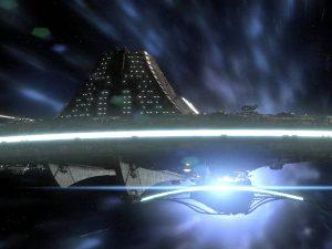 """Destiny and seed ship (""""Resurgence"""")"""