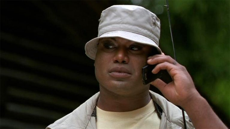 "Teal'c on the phone (""The Curse"")"
