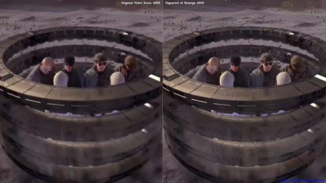 Stargate SG-1 AI upscaling comparison
