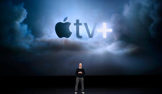 Tim Cook Apple TV+ announcement