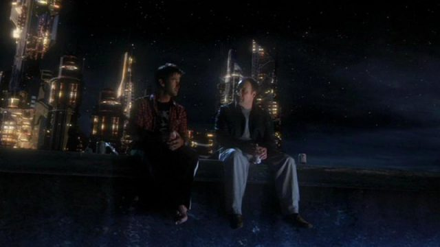 "John and Rodney on the pier (""The Shrine"")"