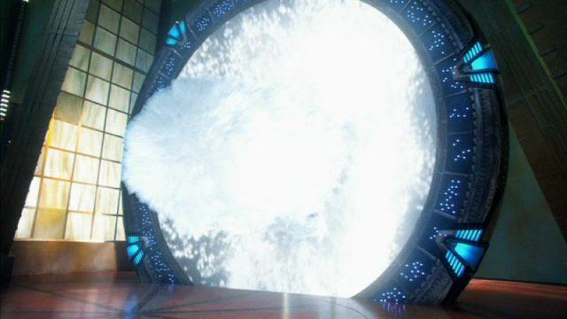 Atlantis Stargate activates