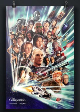 The Companion Season 1 Poster (Sam Gilney)