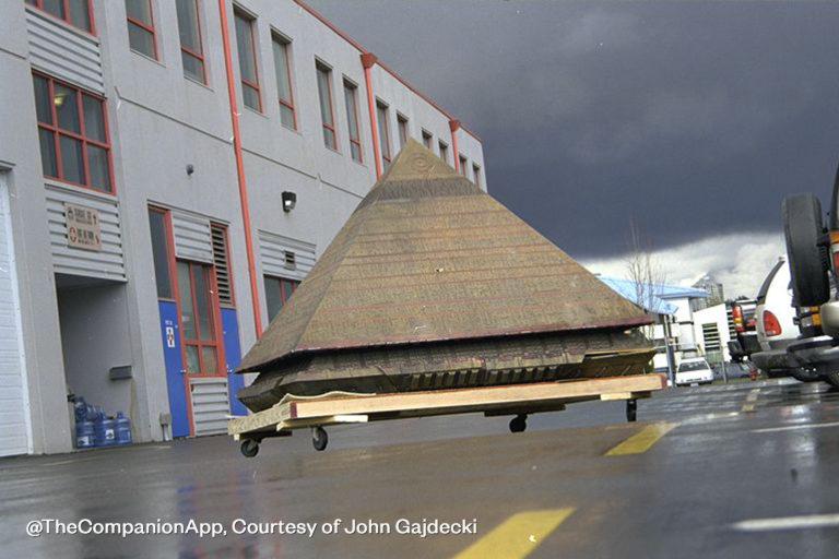Ra's pyramid model