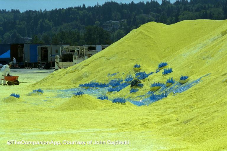'Cold Lazarus' sulfur pits