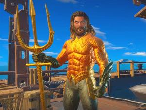 Aquaman in Fortnite (Epic Games)