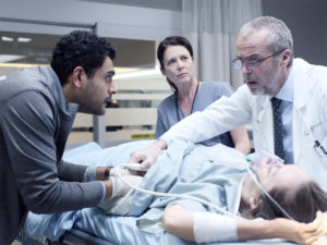 Torri Higginson co-stars in Transplant