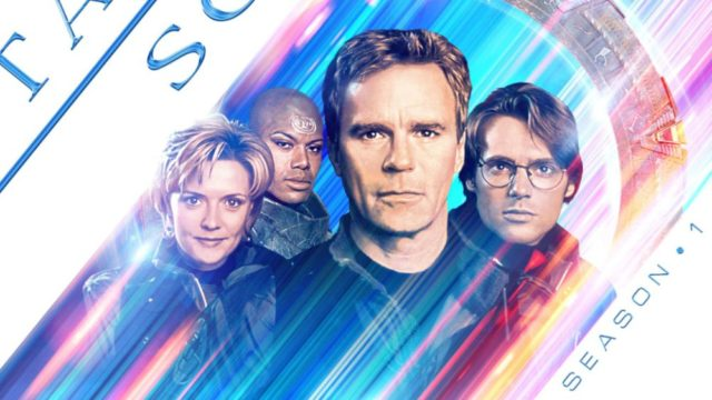 Stargate SG-1 (20th Anniversary Streaming Art)