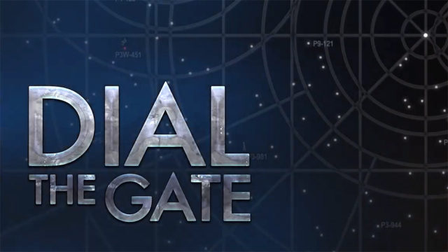 """""""Dial the Gate"""" Title Card"""