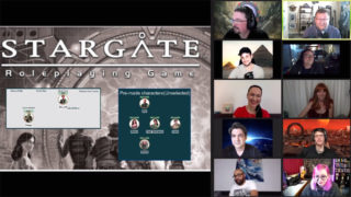 Stargate SG-1 RPG Gameplay (Dial the Gate)