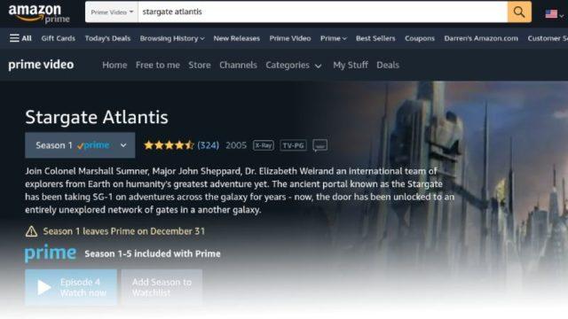 Amazon Prime Video (December 2020)