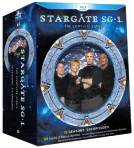 Stargate SG-1 (VEI Bluray Set)