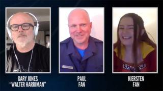 Gary Jones Interviews Paul & Kiersten, Fans (Dial the Gate)