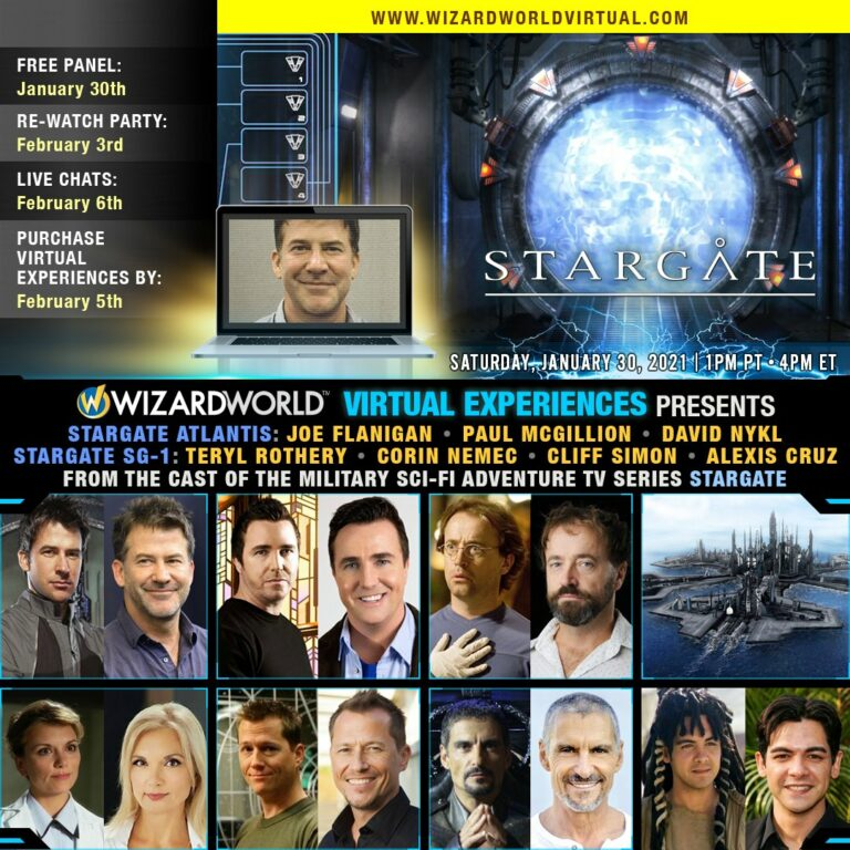 Wizard World Virtual Stargate Event (January 2021)