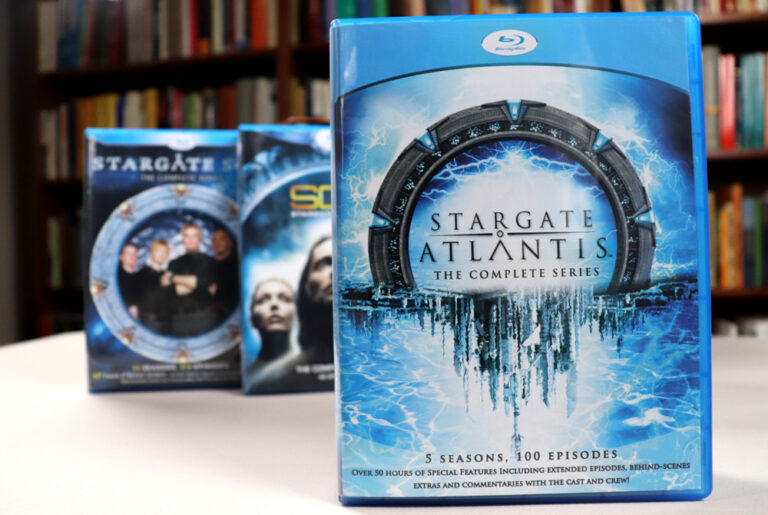 Stargate Atlantis Blu-ray Collection (VEI)