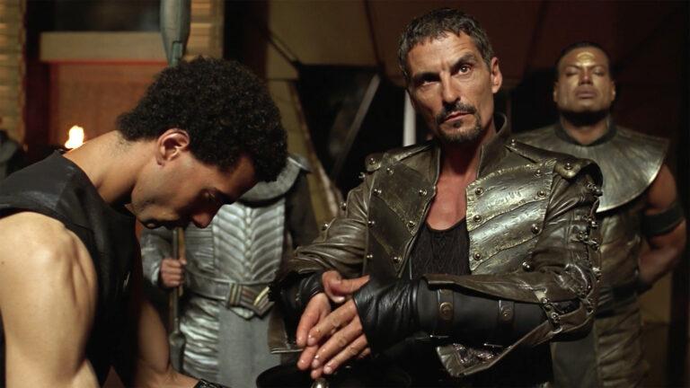 """Cliff Simon as Baal (""""Stargate: Continuum"""")"""