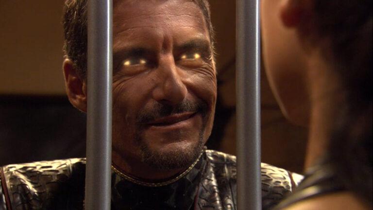 "Cliff Simon as Baal (""Dominion"")"