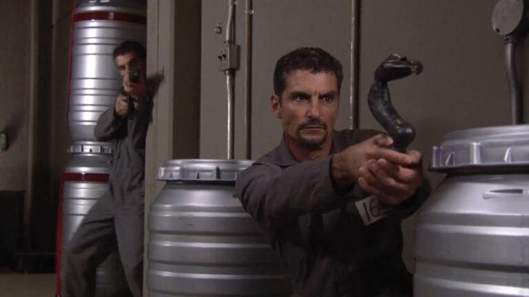 """Cliff Simon as Baal (""""Insiders"""")"""