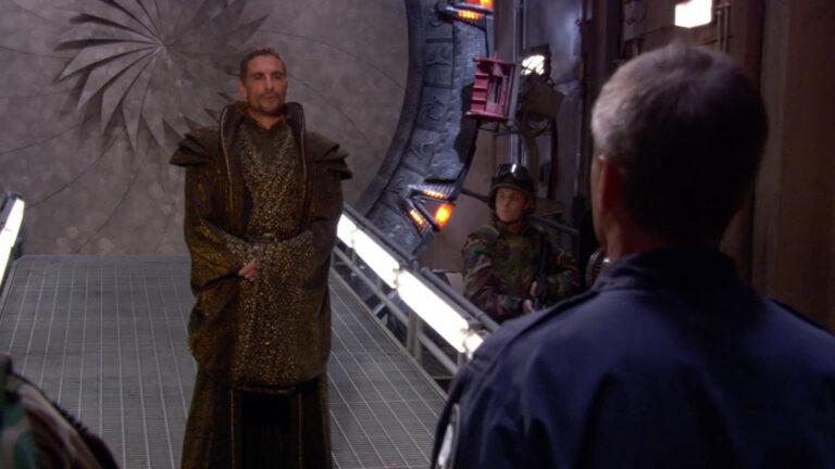 """Cliff Simon as Baal (""""Zero Hour"""")"""