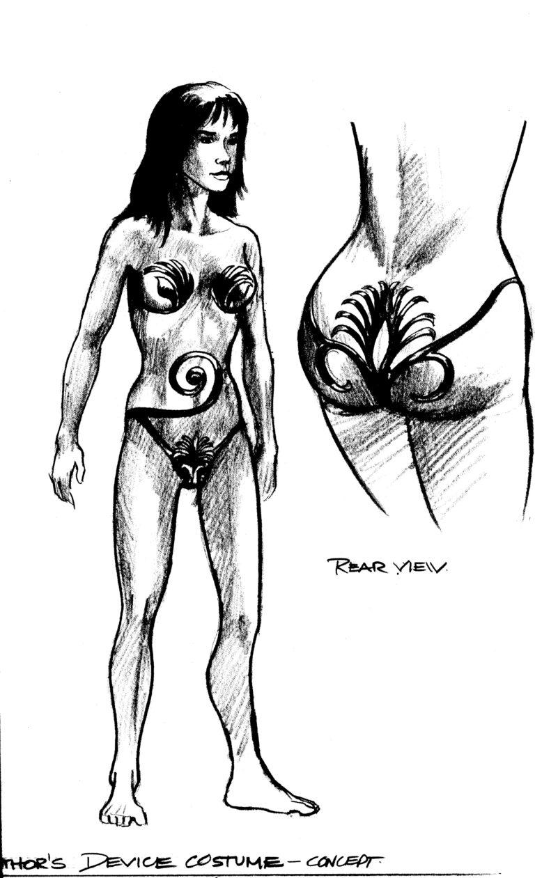 """Hathor"" concept art (Stargate SG-1)"
