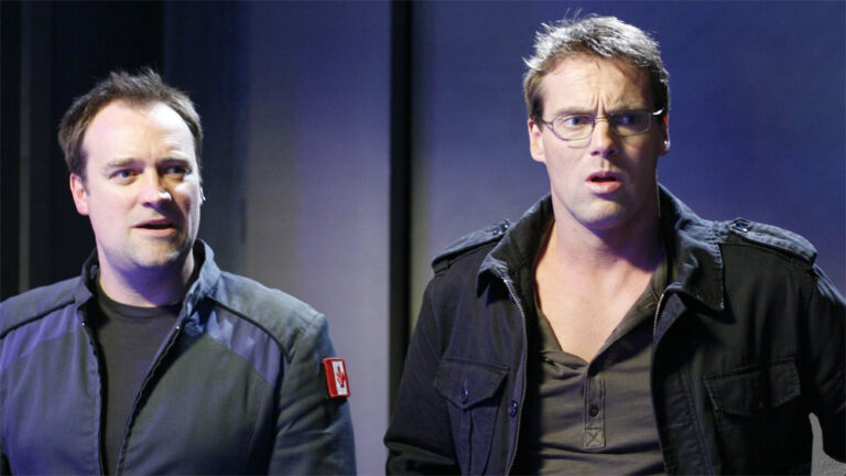 "Rodney McKay and Daniel Jackson (""The Lost Tribe"")"