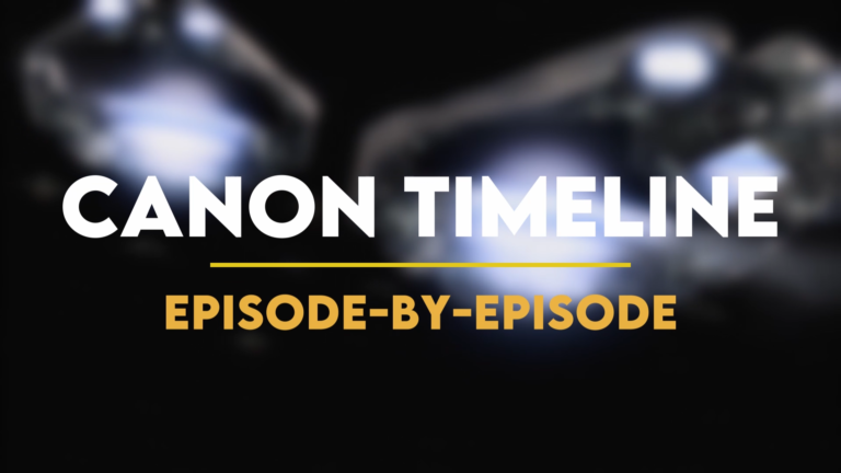 Stargate Watch Order: Canon Timeline (Title Card)