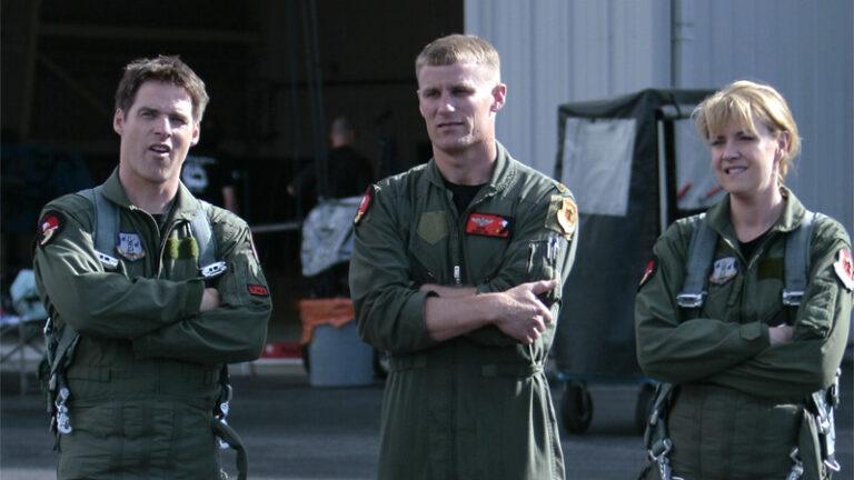 Ben Browder and Amanda Tapping (Stargate: Continuum)