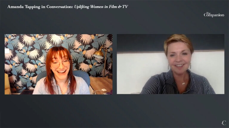 Amanda Tapping in Conversation: Uplifting Women in Film & TV (The Companion)
