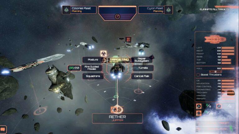 Battlestar Galactica: Deadlock (Slitherine)
