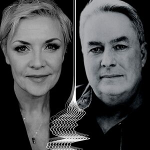 Amanda Tapping and Brad Wright (The Companion)