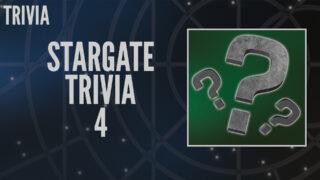 Stargate Trivia 4 (Dial the Gate)