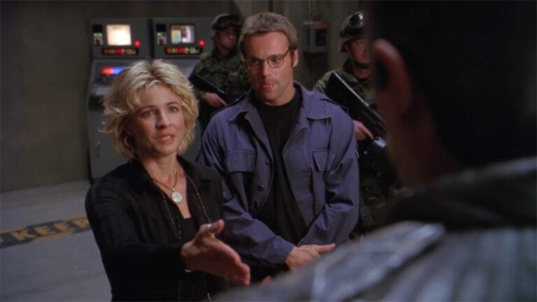 "Dr. Weir meets Bra'tac (""Lost City"")"