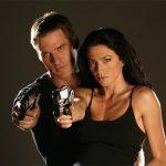 Ben Browder and Claudia Black (Farscape)